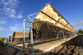 concentrated solar thermal plant